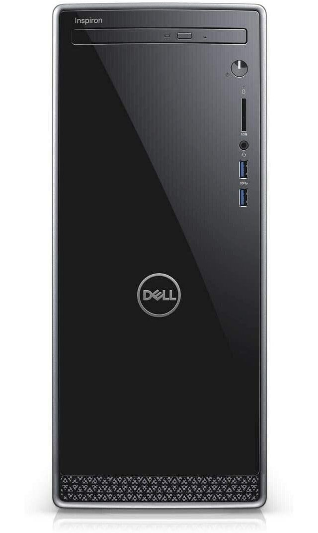 The Dell Inspiron desktop computer is a highly-expandable desktop computer.