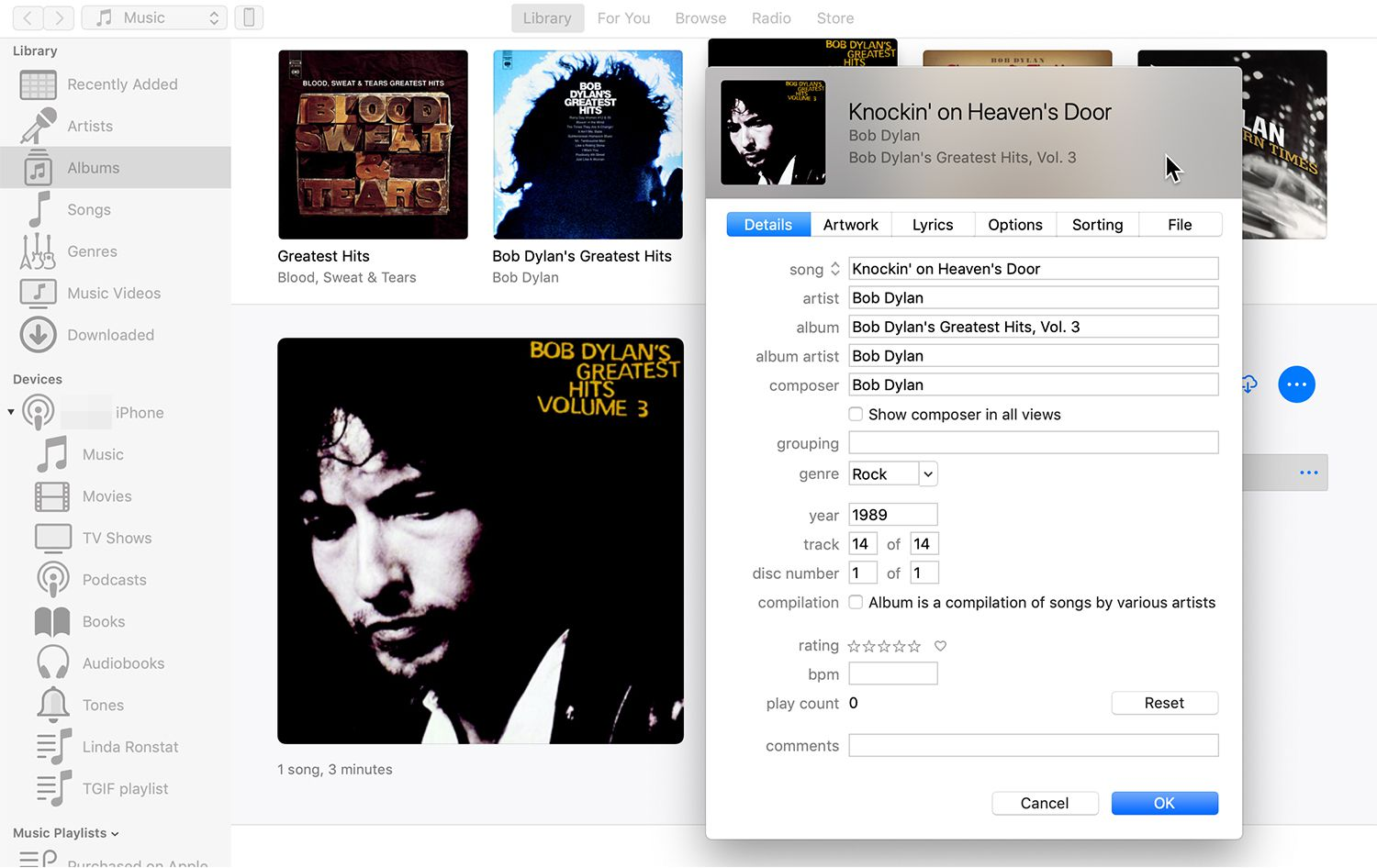 How to Change Song Information (ID3 Tags) with iTunes