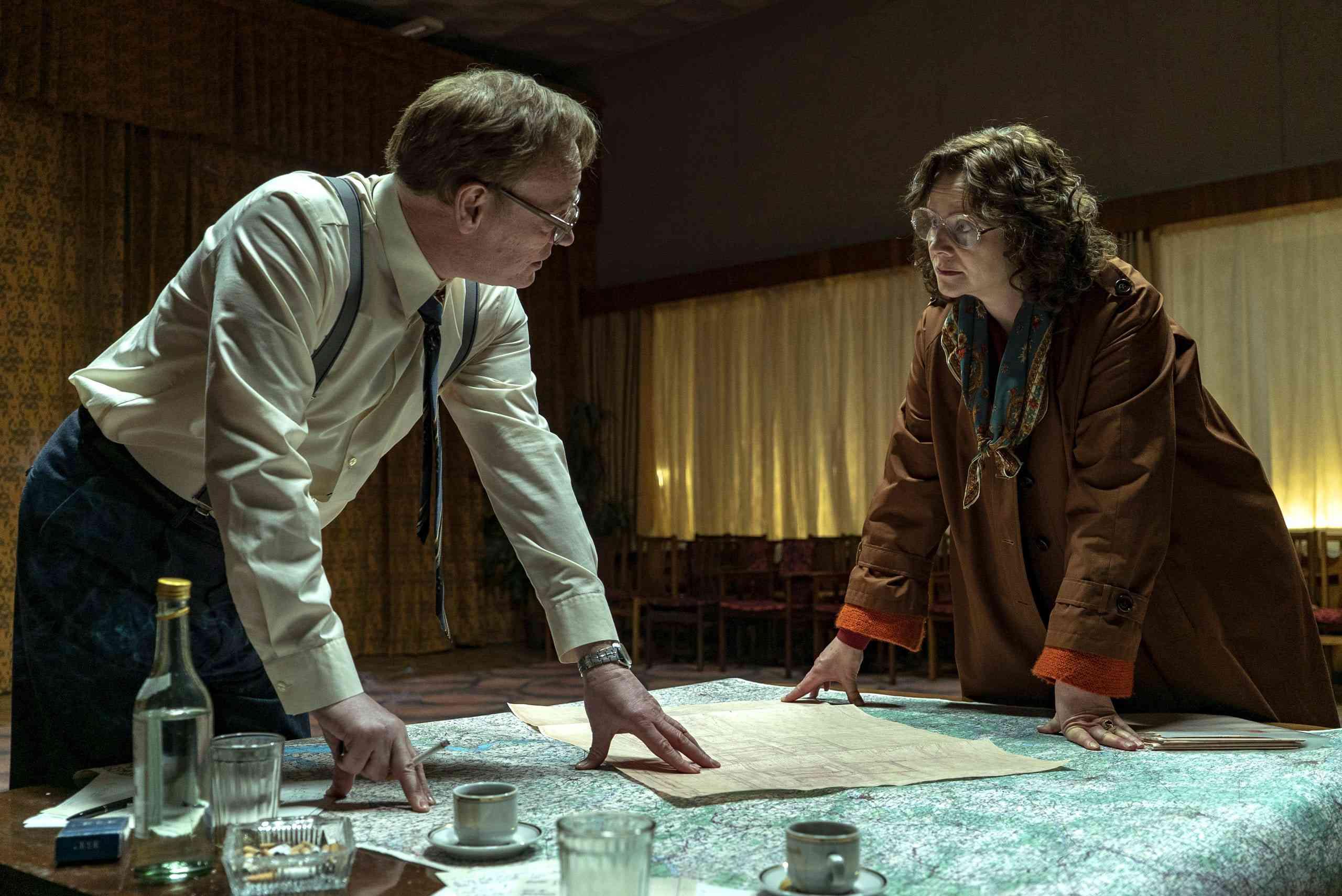 A scene from Chernobyl (2019)
