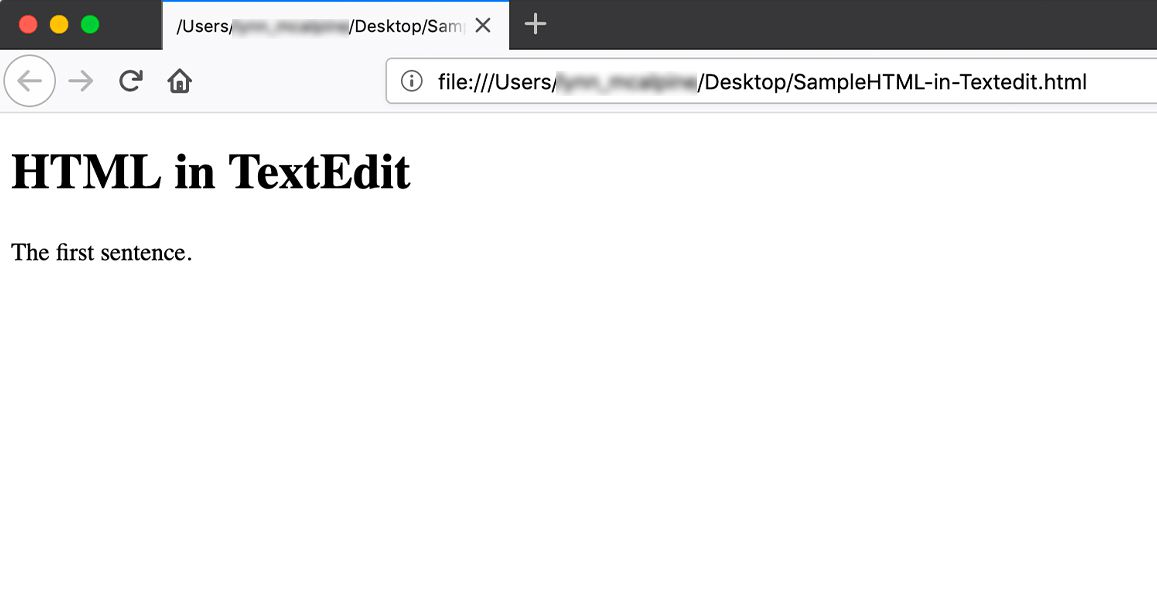 How to Edit HTML With TextEdit on a Mac