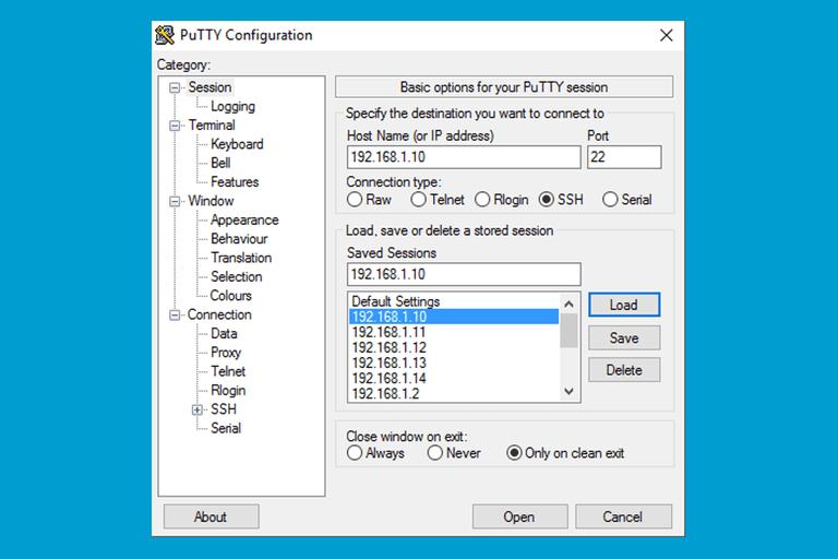 Putty Terminal Emulator