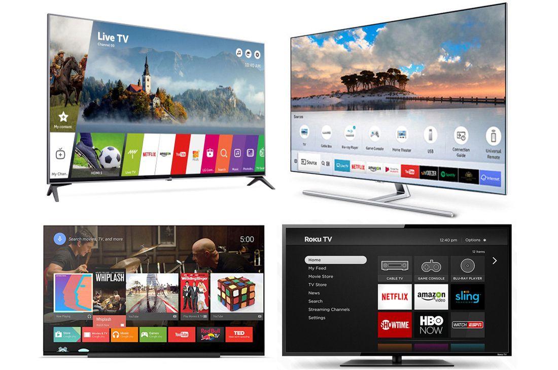 Smart TV Platform Examples (LG, Samsung, Sony, Roku)