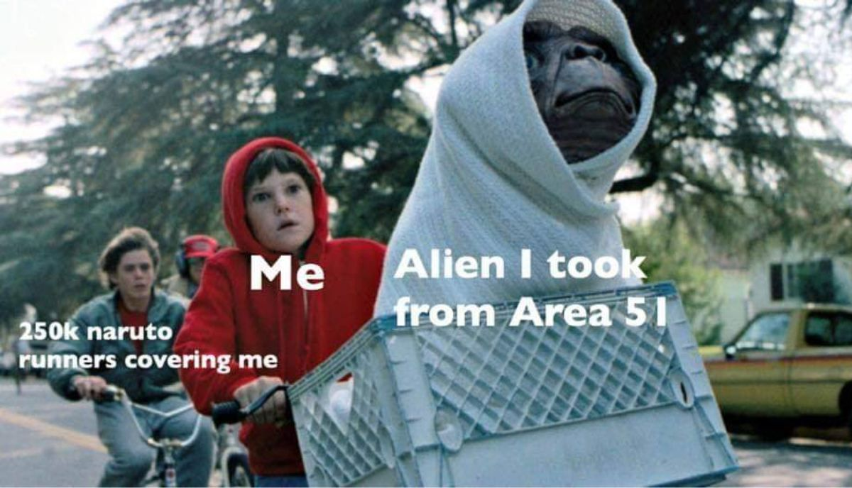 Area 51 raid meme