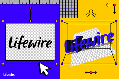 Lifewire logo in 2D and 3D