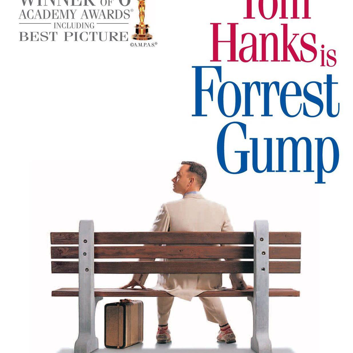 Promotional image for the film Forrest Gump