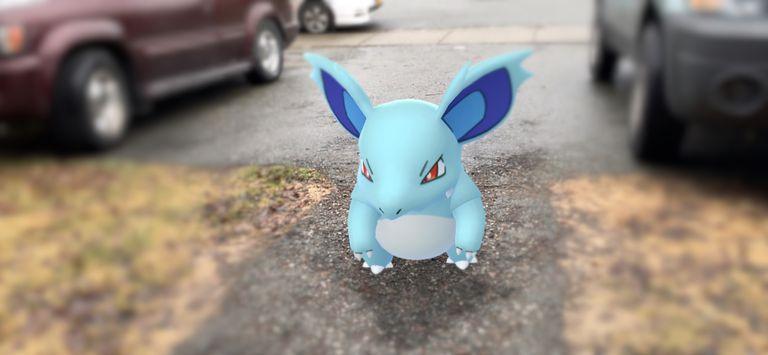 Nidorina AR from Pokemon Go