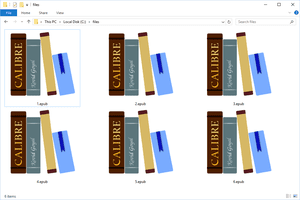EPUB files in Windows 10