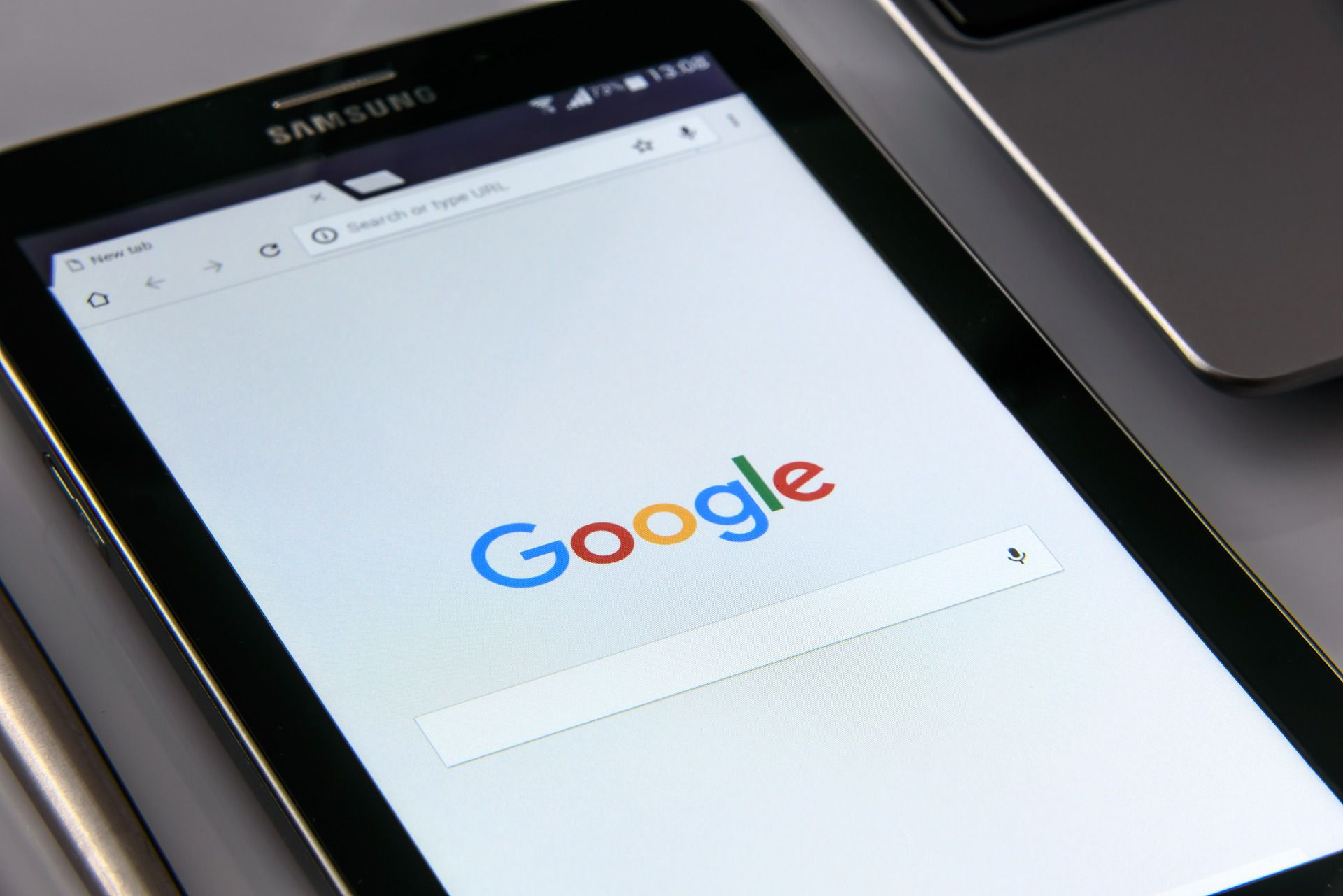 An image of Google Search on a smartphone.