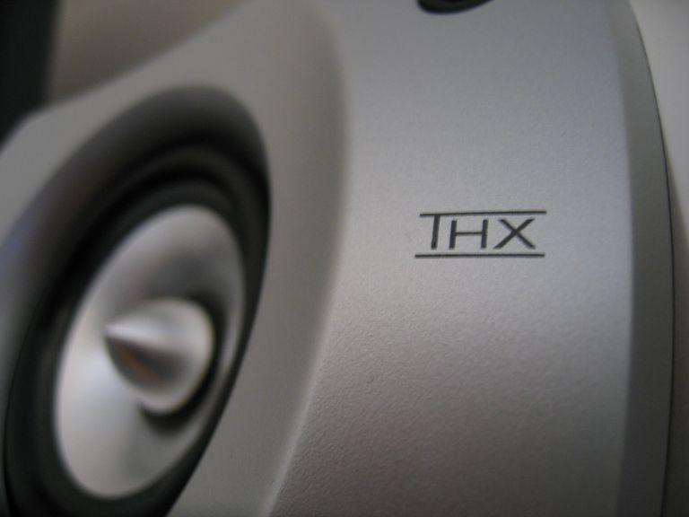 Close up of THX PC Speaker