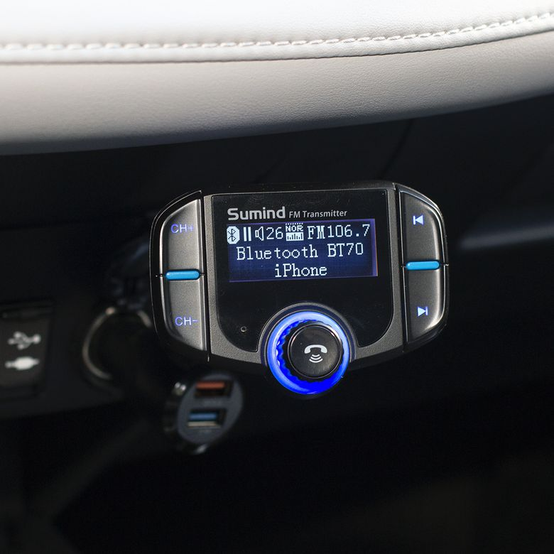 Sumind BT70 Bluetooth FM Transmitter