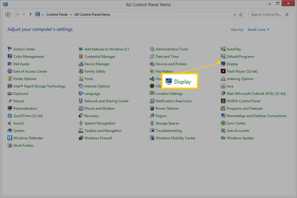 how to open nvidia control panel windows 8