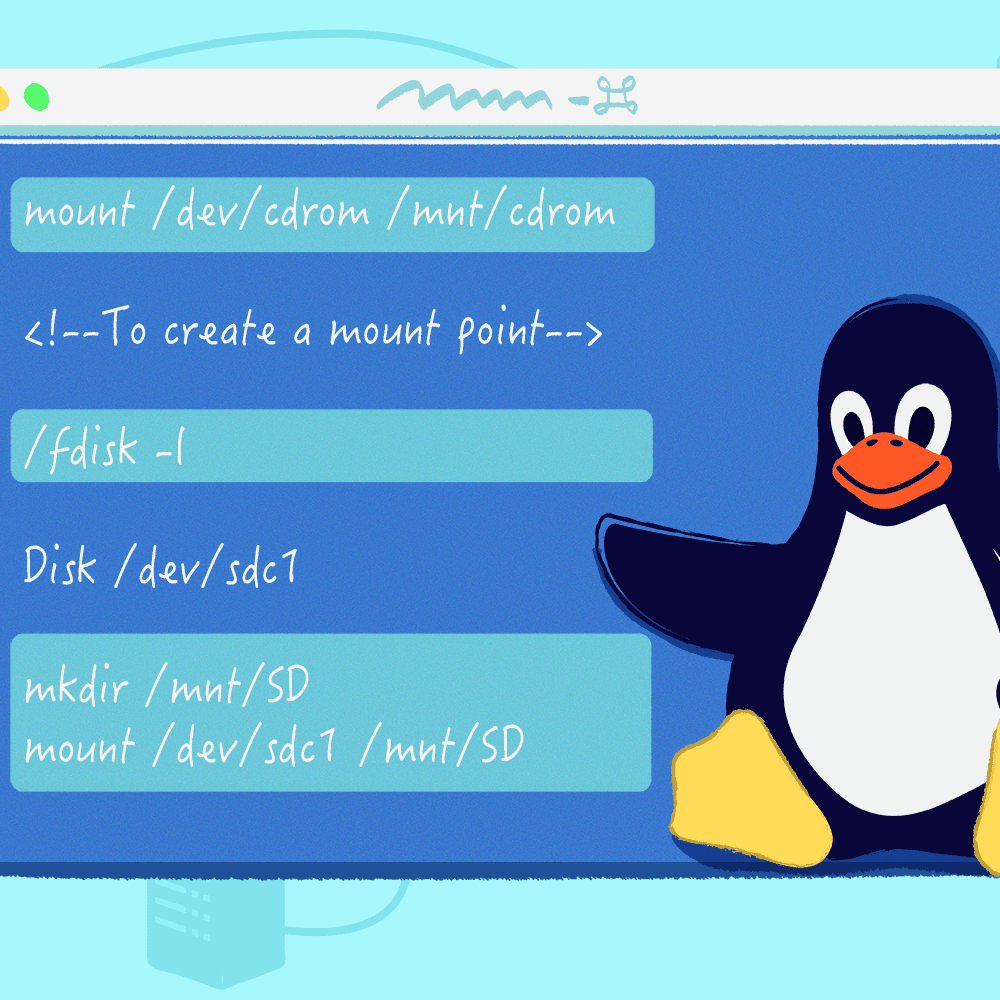 When to Use the Linux mount Command
