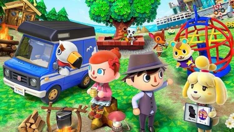 Key art for Animal Crossing: Pocket Camp
