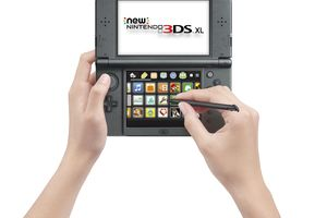 Nintendo 3DS XL portable gaming system