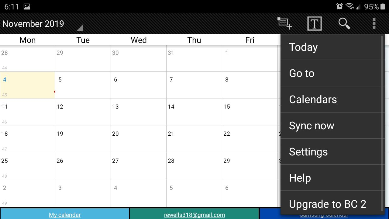 Keep track of appointments with Business Calendar Pro.