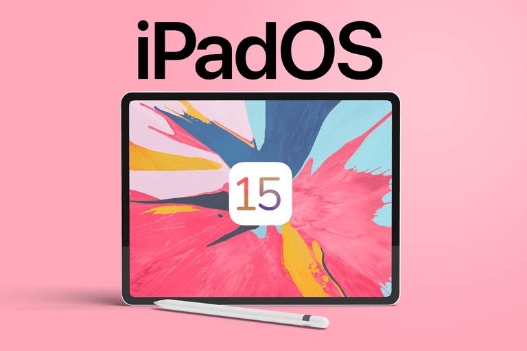 iPadOS 15 mockup