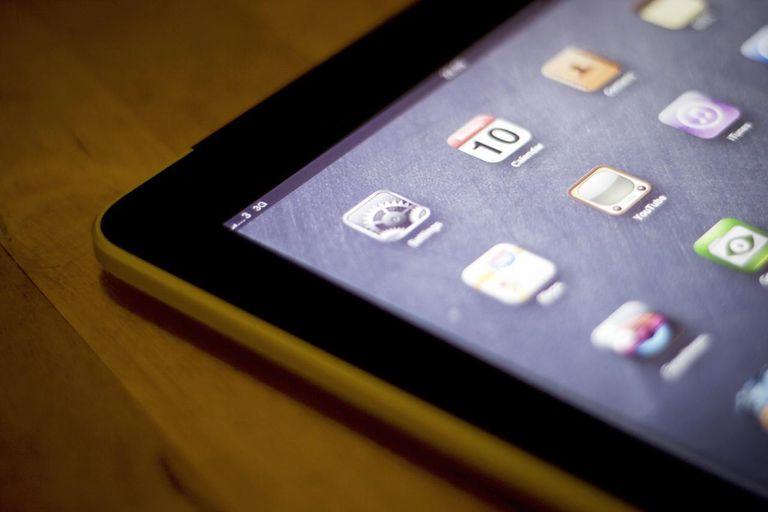iPad 3G running on 3