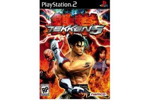 Tekken 5 game cover for PS2