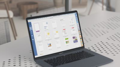 Microsoft Word on MacBook Pro