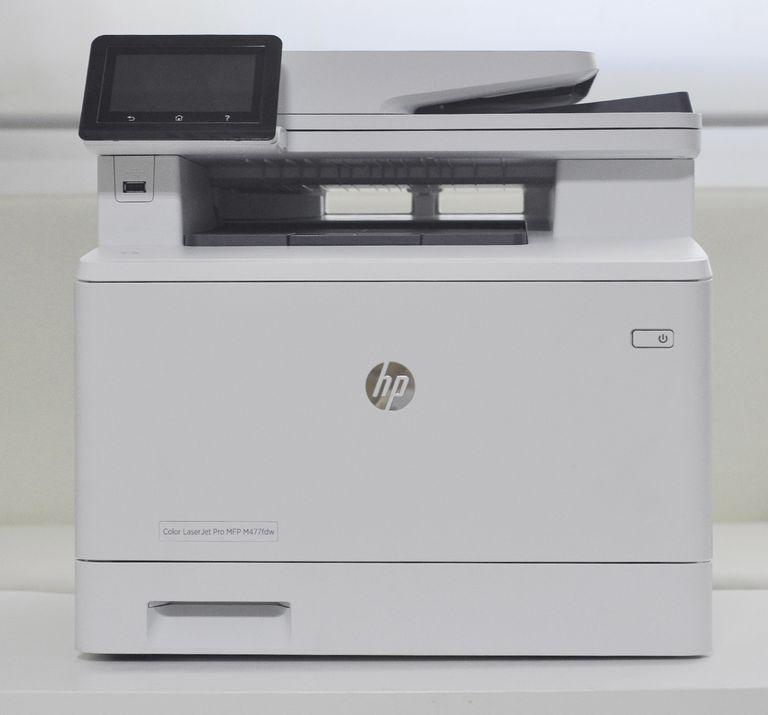 HP's LaserJet Pro MFP M477dw