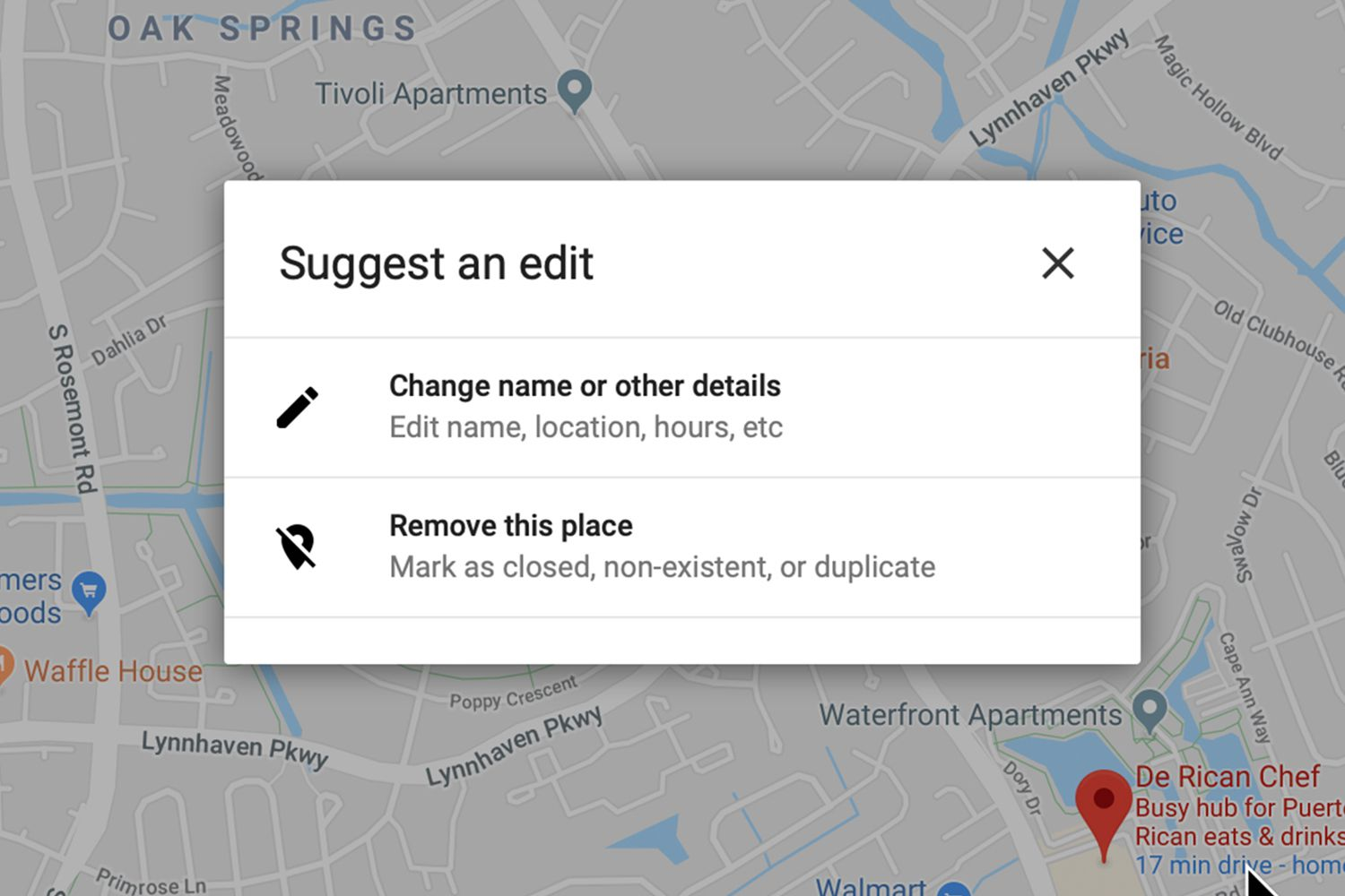 How to Edit a Location in Google Maps