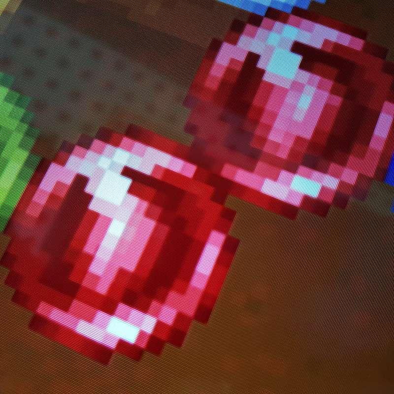 Example of pixelated image