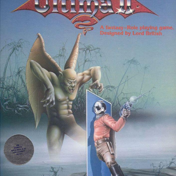 Ultima II The Revenge of the Enchantress Box Art
