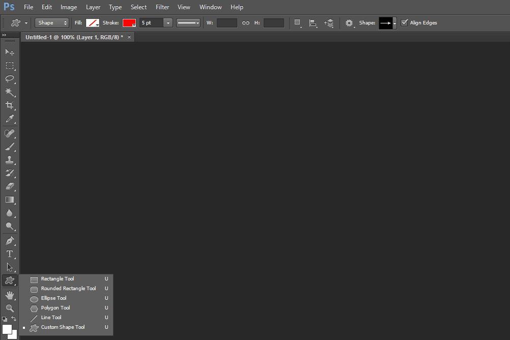 Hundreds of Free Photoshop Shapes