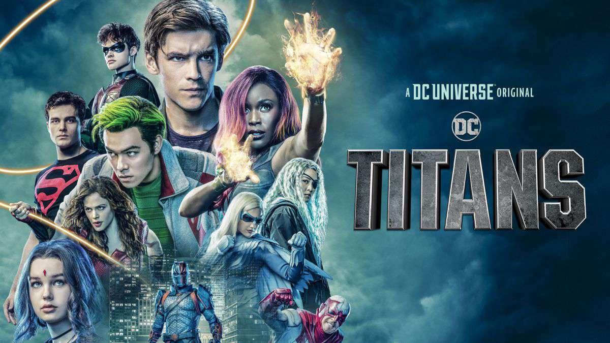 The cast of DC Titans