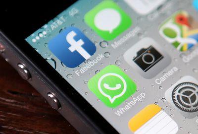 Facebook app icon.