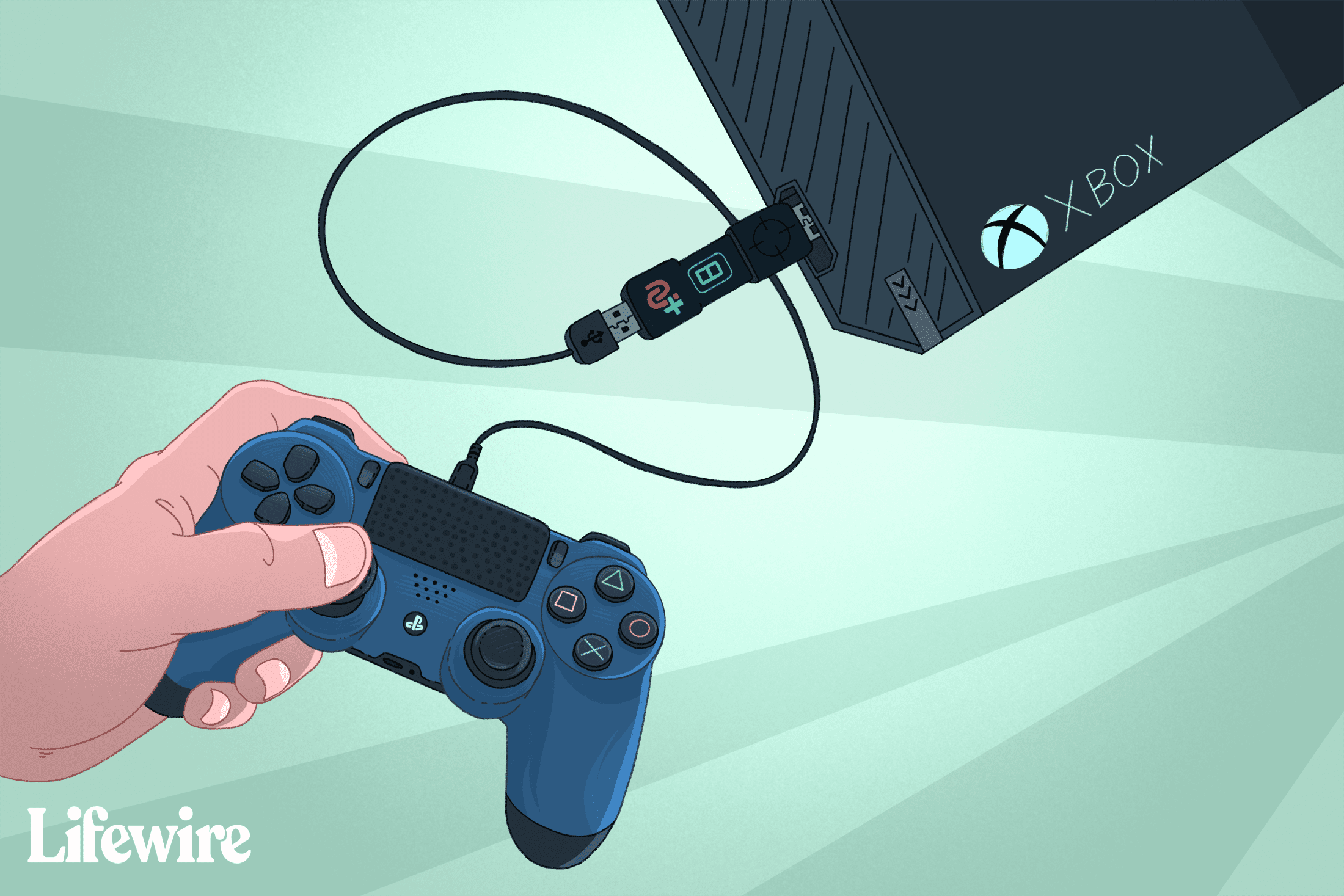 How To Use A Ps4 Controller On Xbox One