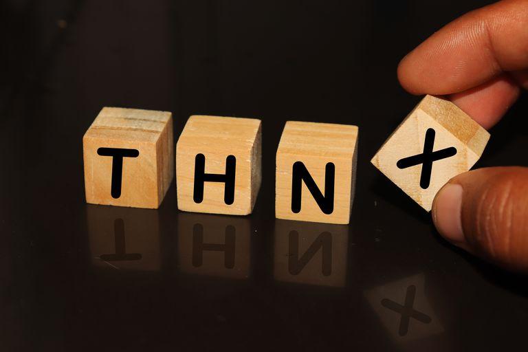 What Does THNX Mean in Text-Speak?