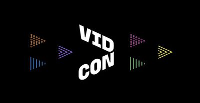 VidCon 2021 logo