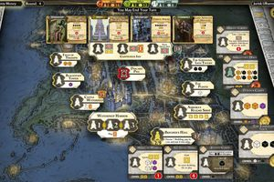 Screenshot of the map in Lords of Waterdeep