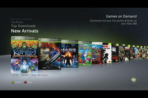 Xbox 360 Games On Demand