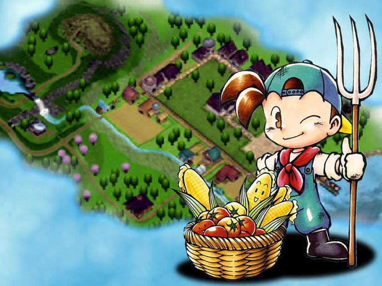 Harvest Moon: Back to Nature for Gamecube promotional image