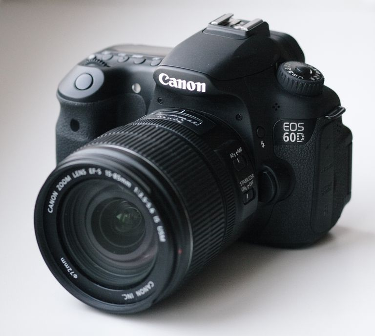 Canon 60D camera.