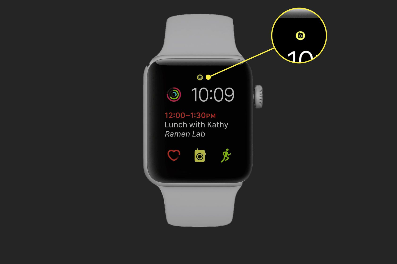 The Walkie-Talkie app icon on the Apple Watch home screen