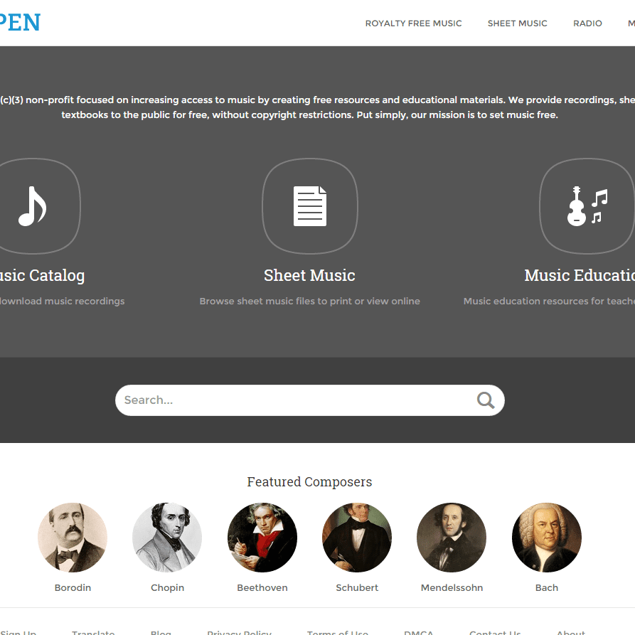 Download Free Classical Music at Musopen
