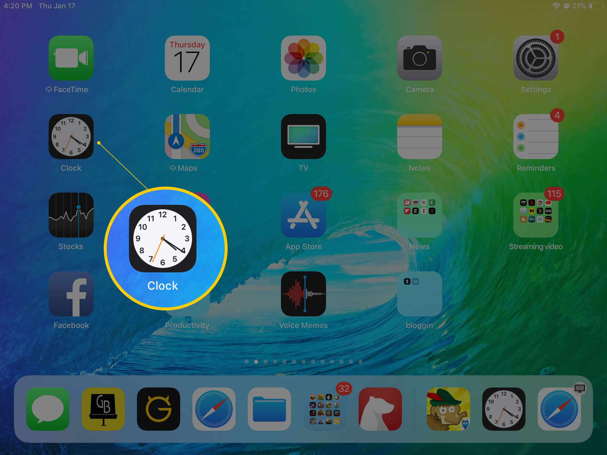 How to Set an Alarm on Your iPad Clock