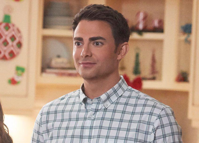 Jonathan Bennett in The Christmas House