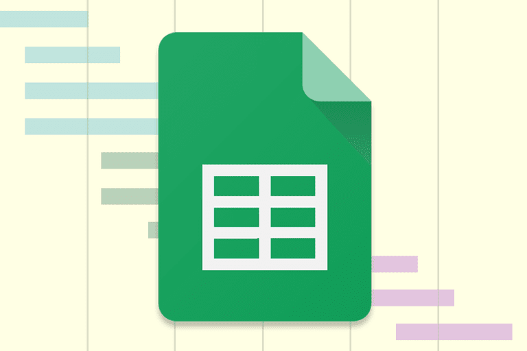 Gantt Chart with Google Sheets icon