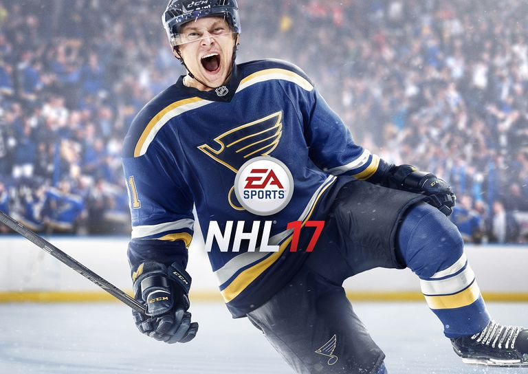 Official game cover of EA Sports NHL17