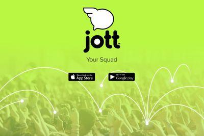 Screenshot of Jott.com
