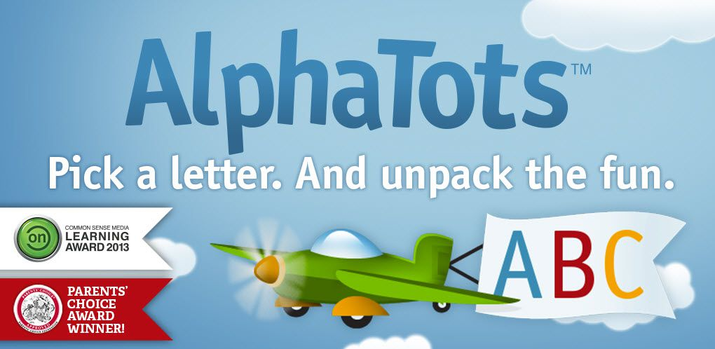 The AlphaTots logo