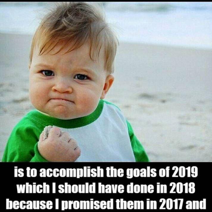 Goal for 2020 Meme