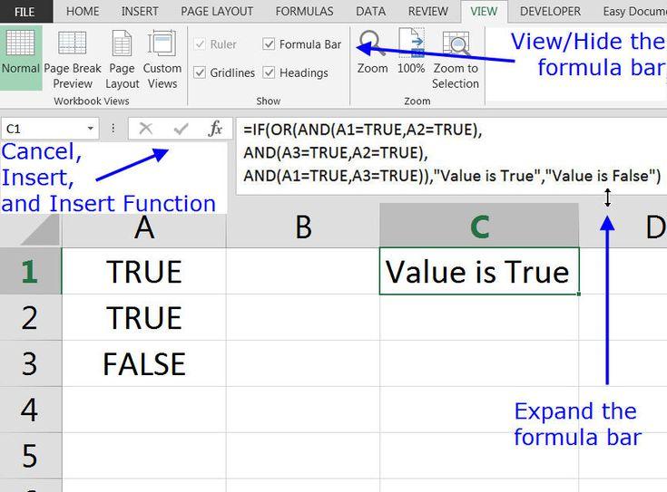 Formula Bar Fx Bar In Excel And Google Sheets