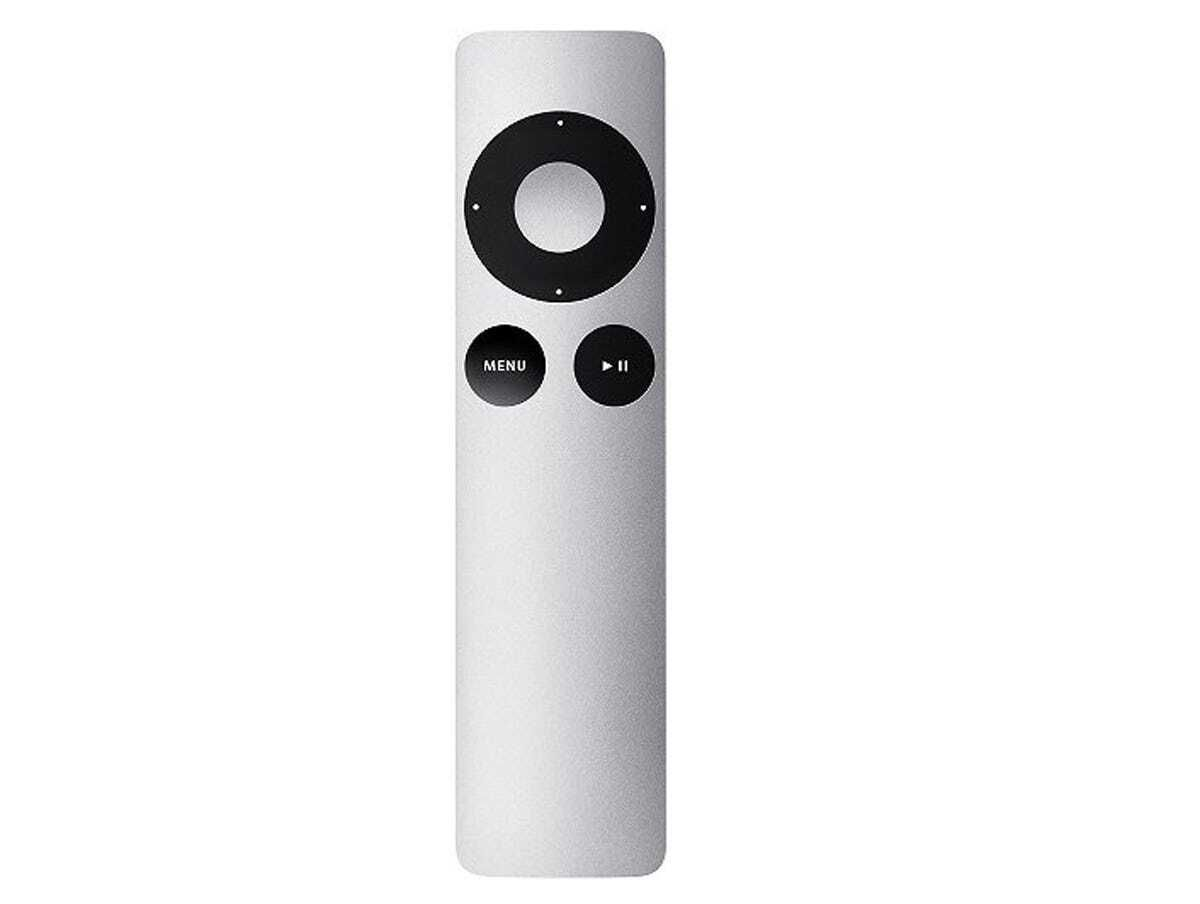 The simple Apple TV remote.