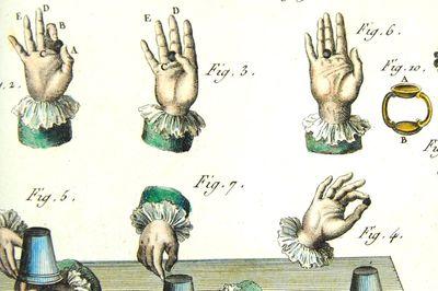 Slight of hand tricks