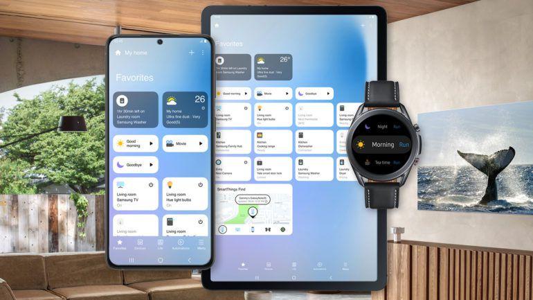 Samsung's new SmartThings app